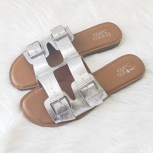 Franco Sarto Buckle Sandals